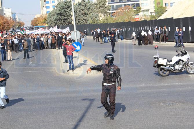 اعتصام أمام السفارة الامريكية بعمان