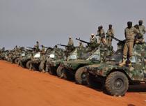 قوات تشادية في مالي