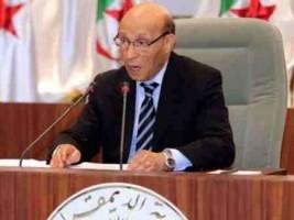 """رئيس البرلمان الجزائري """"يعترف"""" بإسرائيل!"""