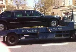 تعطل سيارة أوباما قبيل وصوله إلى القدس