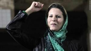 عائشة القذافي تحرق مقراً رئاسياً بالجزائر