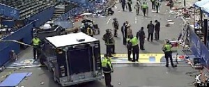 انفجاران عنيفان يهزان مدينة بوسطن الامريكية