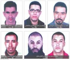 صور المتهمين بقضية اغتيال بلعيد