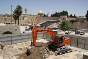 مخطط إسرائيلي لتوسيع حائط البراق