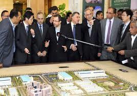 مصر والصين وقعتا اليوم اتفاقا لتطوير منطقة شمال غرب خليج السويس