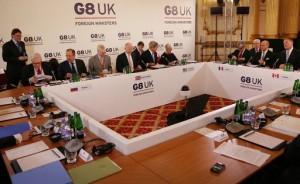 مجموعة الثماني تفشل في التوصل لاتفاق بشأن سوريا