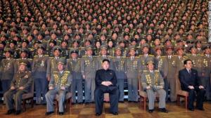 التفاف القيادة خلف الرئيس الكوري الشاب