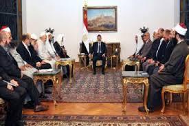 مرسي والهيئة الشرعية للحقوق والإصلاح