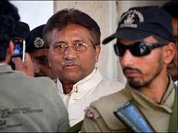 اعتقال مشرف