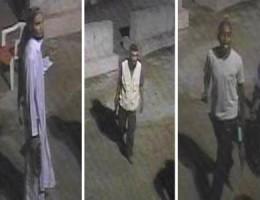 أمريكا تنشر صور ثلاثة مشتبه بهم في الاعتداء على قنصليتها في بنغازي