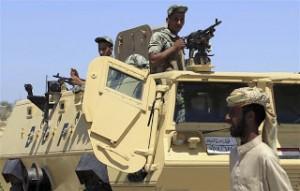 الجيش يبدأ عملية عسكرية في سيناء لتحرير جنود مختطفين