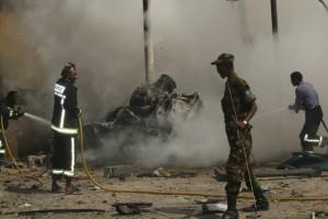 نجاة وفد قطري من هجوم انتحاري في مقديشو ومقتل خمسة