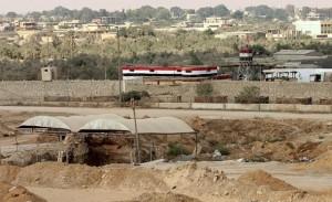 الحدود المصرية الفلسطينية