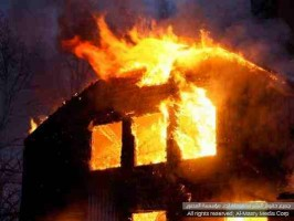 حرق حسينية بالجيزة