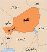 خريطة النيجر