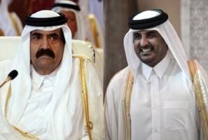 أمير قطر يقرر تسليم الحكم لولي عهده