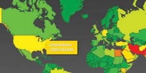 خريطة التجسس الامريكية