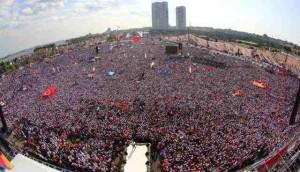 أنصار حزب العدالة والتنمية في اسطنبول