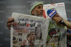 صاحب الصورة يقول أنها أثناء ثورة يناير
