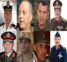 الانقلابيون.. سبعة جنرالات وثامنهم السيسي