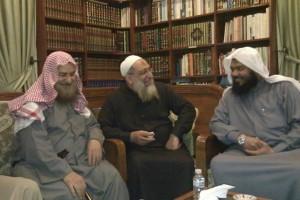 الشيخ عبد الرحمن عبد الخالق والشيخ ياسر برهامي