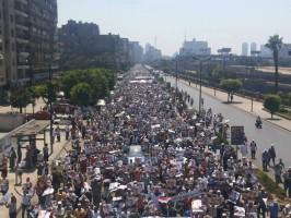 """حشود إسقاط الإنقلاب تملئ شوارع مصر فى """"جمعة الفرقان"""""""