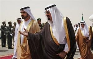 محمد بن راشد والملك عبد الله