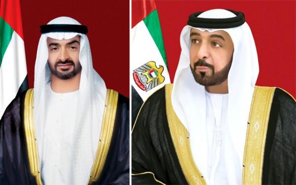الشيخ خليفة ومحمد بن زايد