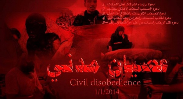 civil disobedience 1-1-14