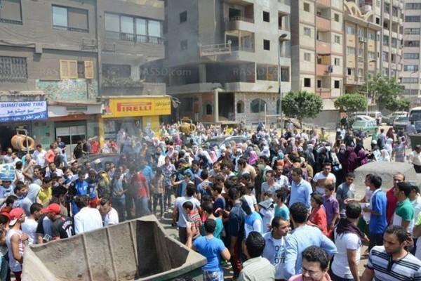 مسيرة المطرية اليوم الجمعة واستشهاد ابراهيم صبحي