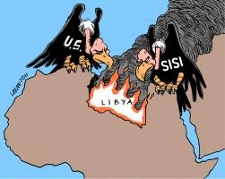 مصر والامارات قصفت ليبيا جوا