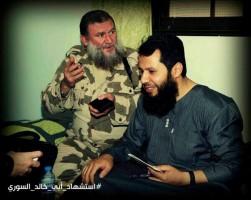 الحموي وأبو خالد السوري