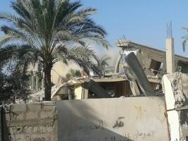 تدمير بيوت أهالي سيناء