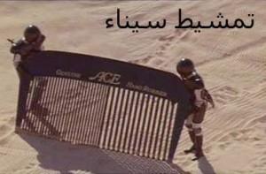 تمشيط سيناء