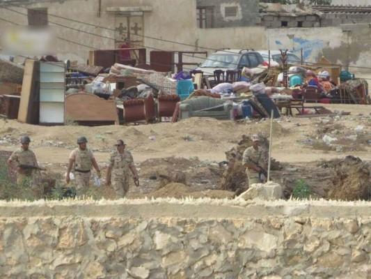 جيش السيسي يهجر أهالي سيناء