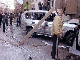 صورة انفجار سابق في صنعاء