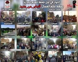 عودة ثورة يناير من جديد