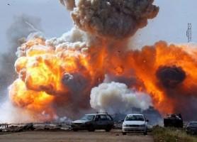 تفجيرات اليوم في القبة بليبيا