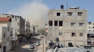 قصف جيش السيسي للمنازل في سيناء
