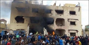 تفجير قسم شرطة ثالث العريش