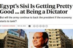 فورين بوليسي: السيسي يسير بخطى ثابتة نحو الديكتاتورية