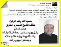هاشم إسلام اعتقال