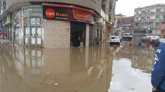 دمياط تغرق بعد الاسكندرية