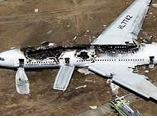 حطام الطائرة الروسية في سيناء
