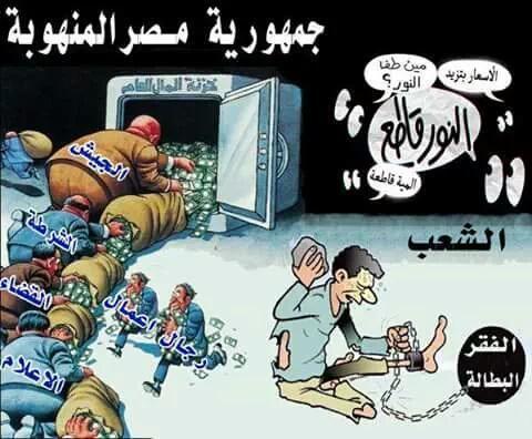 مصر المنهوبة