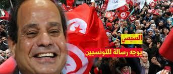 السيسي قلق من انتقال احتجاجات تونس لمصر