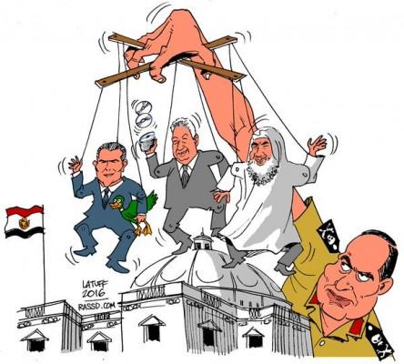 الاراجوزات في برلمان السيسي