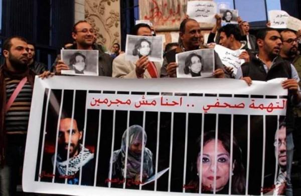 حملة للصحفيين تطالب بحرمان السيسي من رعاية يوبيلهم