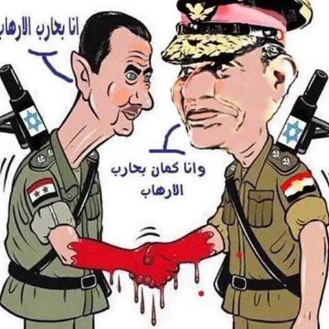 السيسي وبشار الارهاب