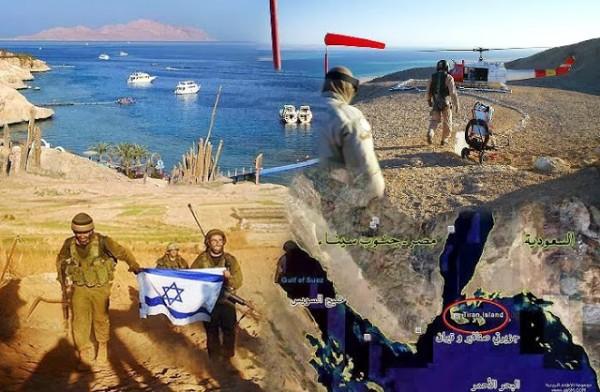 الجزيرتان مصريتان محتلتان